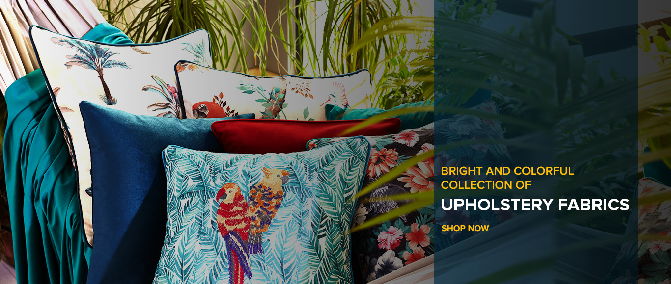 Widest collection of upholstery fabrics