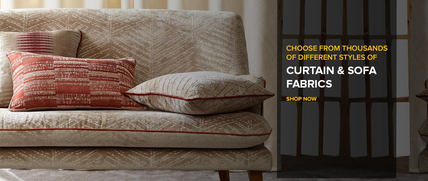 Curtain and sofa fabric